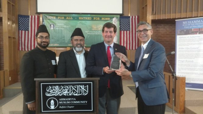 USA: Buffalo chapter of the Ahmadiyya Muslim Community host Interfaith Dinner