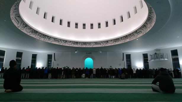 Inside Western Europe's largest mosque, the Baitul Futuh in Morden (Image: Baitul Futuh Mosque)