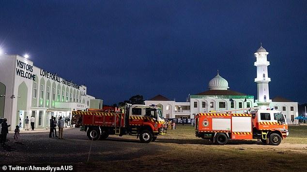 Ahmadiyya Muslim Australia (AMA) invited the NSW crew to theBaitul Huda mosque