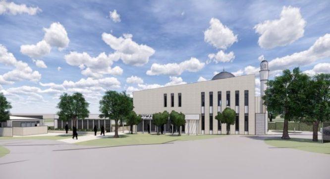 Ahmadiyya Muslim community lodges plans for a mosque to be built on land in Narrabundah