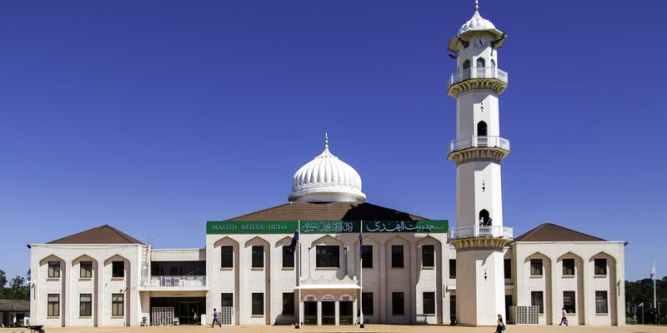 Ahmadiyya Muslim Community's Baitul Huda Mosque in Sydney, Australia