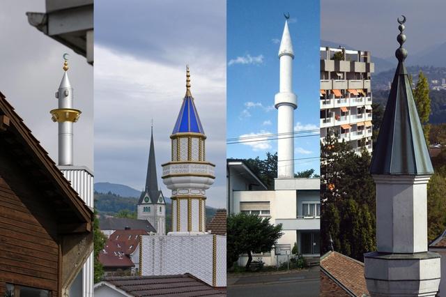 Minarets in Switzerland