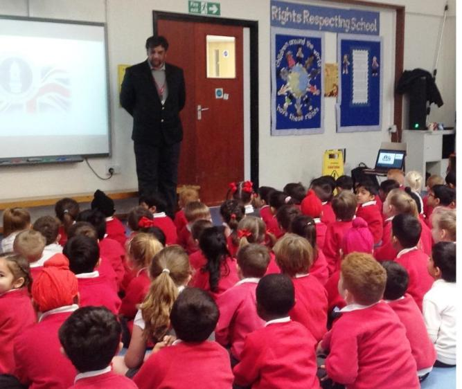 Pupils have lots to ask as Ahmadiyya Muslim Community Visits School