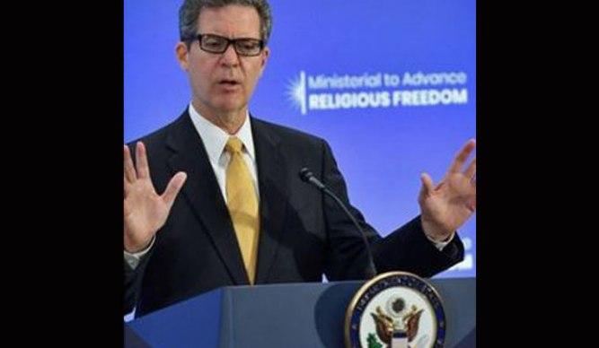 US Ambassador at Large for International Religious Freedom Samuel Brownback | Twitter