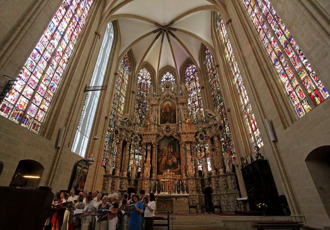 Erfurt Dom Chorraum