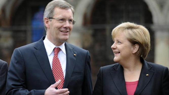 wulff and Merkel
