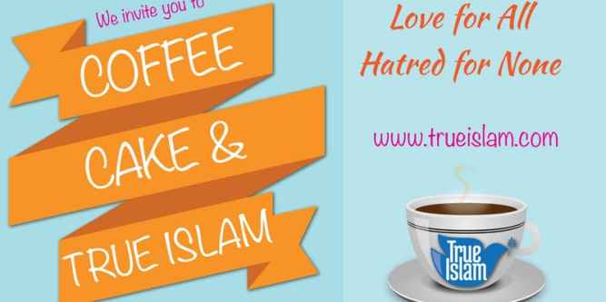 You're invited! Coffee, Cake & True Islam – Ladies Only