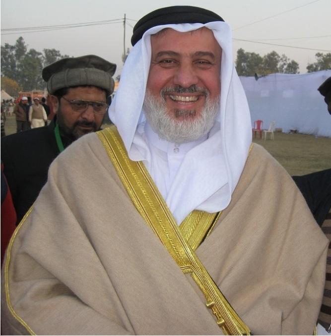 Emir Muhammad Sharif Odeh, head of the Ahmadiyya Muslim community Kababir
