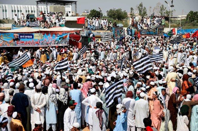 Pakistan procession