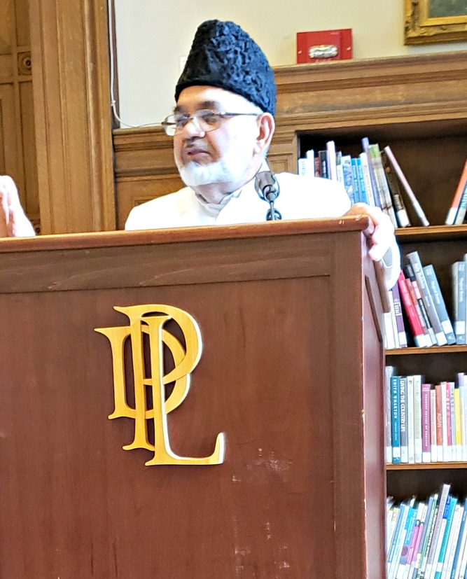 Ahmadiyya Muslim Community holds Real Talk About Islam at the Detroit Public Library in the State of Michigan