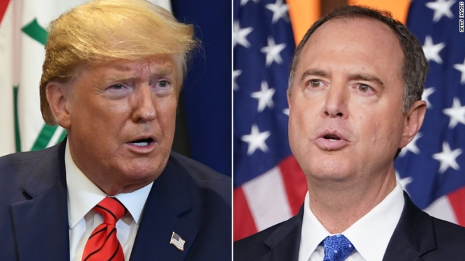 Adam Schiff and Trump