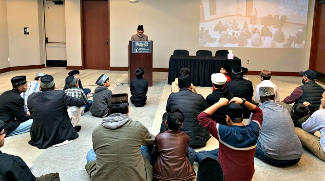 Ahmadi Muslims in Michigan welcome New Year with Prayers for the Country & World