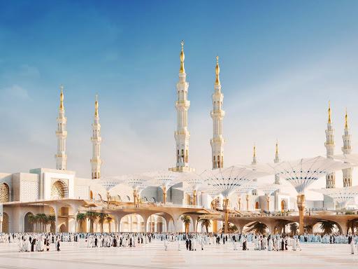 mosque of medina