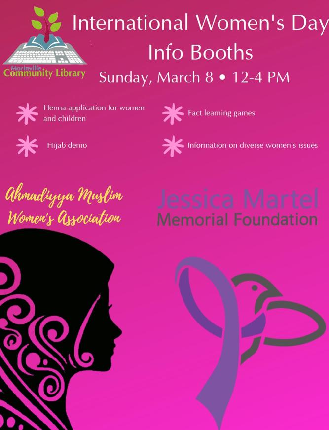 Morinville International Womens Day Poster