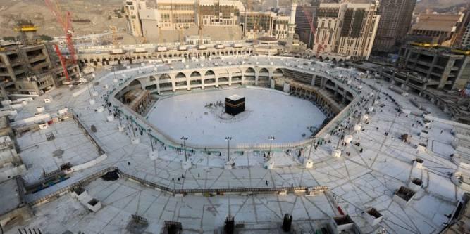 Kaaba empty