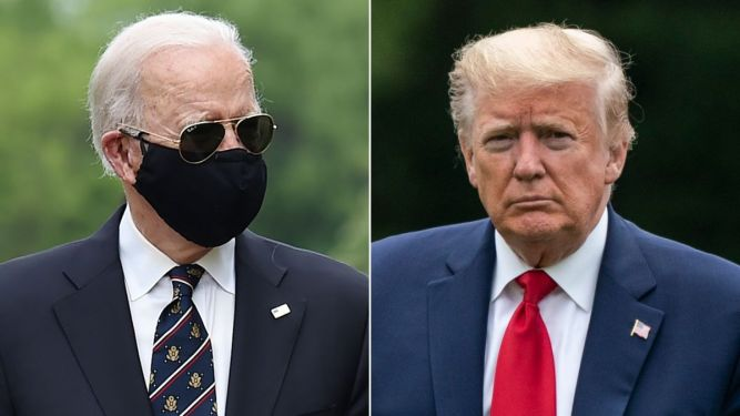 biden with a mask