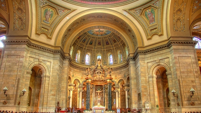 St Paul Cathedral Minnesota