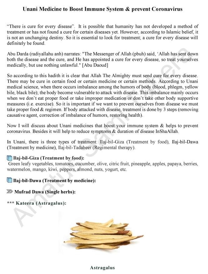 Unani Medicine to Boost Immune System-page-001