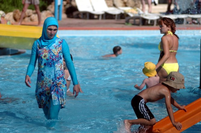 Burkini in Turkey