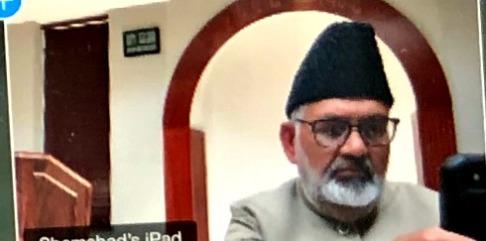 Ahmadiyya Muslim missionary Imam Shamshad Nasir