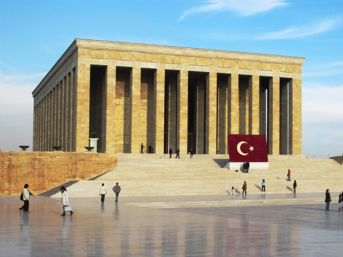 Anitkabir Ataturk Memorial In Ankara