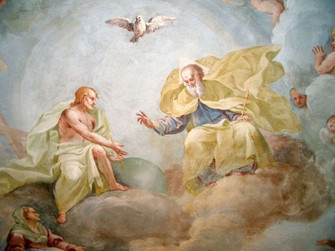17th Century Artist's depiction of Trinity