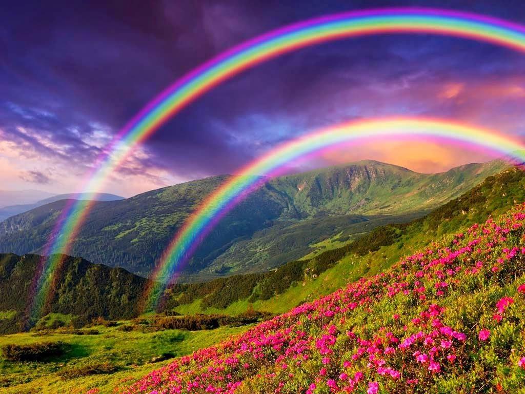 Rainbow scenic